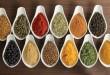 بالصور الاعشاب التي تساعد على الولادة الطبيعية 9388749 epices colorees dans des recipients de ceramique image superbe cuisine 110x75