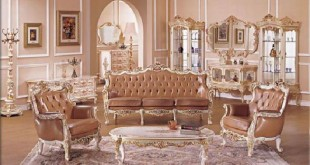 بالصور صور اثاث المنزل بالفرنسية Home Furniture French Leather Sofa S0011  310x165