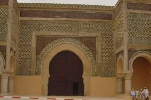 صوره باب منصور مكناس بالمغرب