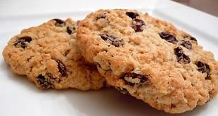 بالصور حلويات سهلة التحضير بالصور Raisin Cookies 310x165
