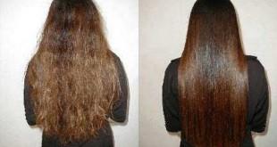صور خلطات لتنعيم الشعر بسرعه