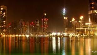 صوره شوارع مدينة دبي الساحرة