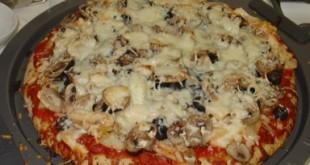 صوره طريقة عمل المشروم للبيتزا