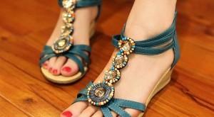 صوره احذية بنات رقيقة للصيف