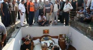 بالصور جنازة الفنانة صباح الشحرورة قبر صباح المزيف 590x392 310x165