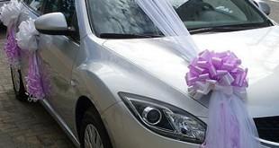 صوره تزيين السيارات الاعراس والزفاف