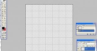 صوره كيفية عمل جدول بالفوتوشوب