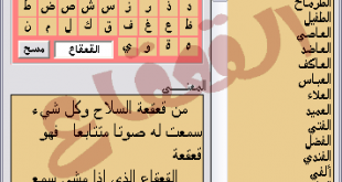 صوره معنى الاسماء  العربية اسماء اولاد جديده