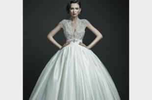 صوره احلي الفساتين للعرايس من الانستقرام