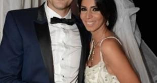 صور احمد عز وزوجته الصور الاولى من عقد قران الفنان