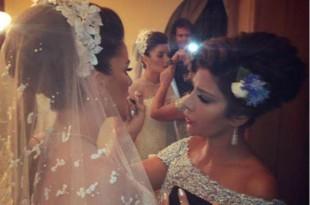 صوره زفاف شام ابنة اصالة