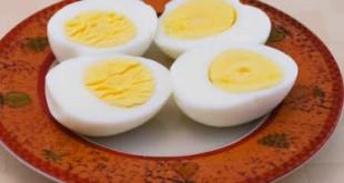 صوره فوايد البيض المسلوق للحامل
