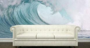صورة اجمل خلفيات ديكور حوائط