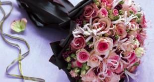 صور احلى بوكيه ورد باجمل الورود والازهار