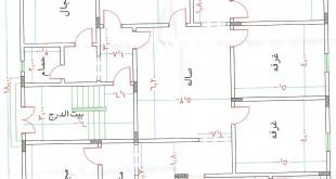 صور مخططات بيوت دور واحد