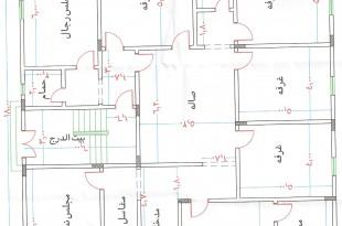 صوره مخططات بيوت دور واحد