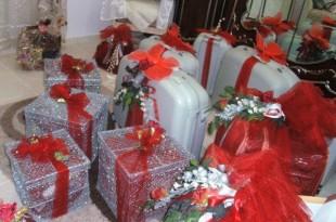 صوره تزيين شورة العروس الجزائرية