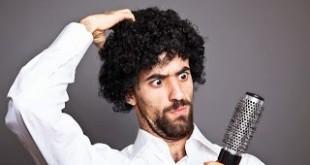 صوره طريقة لتنعيم الشعر الخشن للرجال