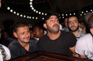 صوره جنازة ابن عم احمد السقا