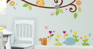 صور رسومات حوائط غرف اطفال