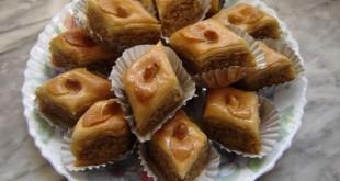صوره حلوى بقلاوة المغربية لذيذة