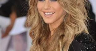 بالصور احدث قصات الشعر الطويل Hair corrugated soft 310x165