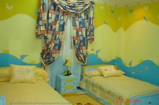 صوره احدث الوان الحوائط لغرف الاطفال