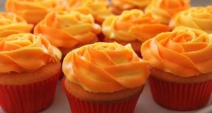بالصور طريقة الحلويات السريعة والسهله Orange Cupcake 310x165