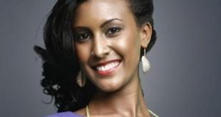 صوره ملكة جمال اثيوبيا  تلتقط صورا مع الرئيس السيسى