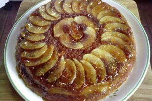 صوره طريقة عمل كيكة التفاح