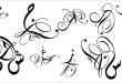 صور حروف عربية مزخرفة مكتوبة