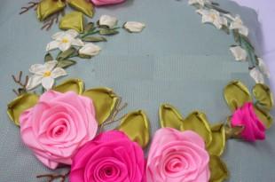 صوره كيفية صناعة الورد بالقماش