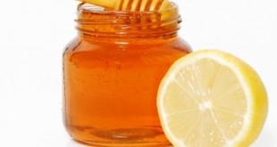 بالصور فوائد العسل والليمون للبشرة الدهنية honey and lemon 310x165
