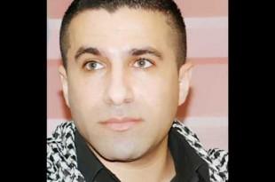 صوره الفنان الفلسطيني عبد حامد