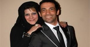 صور صور سعد الصغير وزوجته