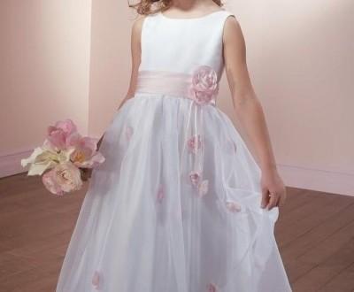بالصور فساتين صغار جميلة للافراح organza beaded scoop neckline with ball gown skirt hot sell flower girl dress fl 0066 400x330
