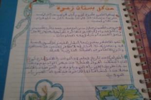 صوره ماذا اكتب لصديقتي في كراس الذكريات