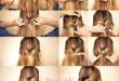 صور تسريحات شعر للبنات سهلة