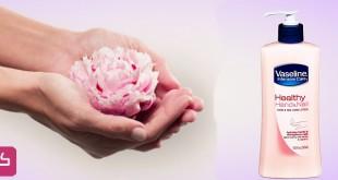 صورة فازلين الوردي ناعمة وجذابة , لوشن قوي لاظافر جذابة