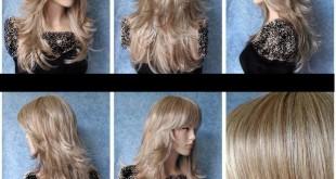 صوره كيفية قص الشعر الطويل بالصور