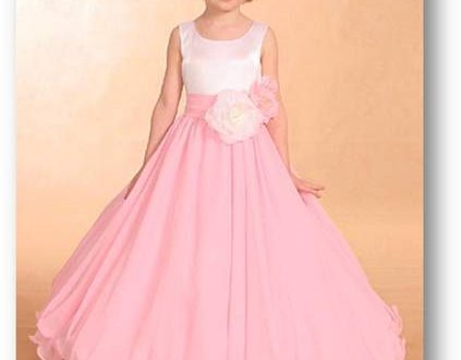 بالصور فساتين بنات صغار شيفون فساتين اطفال fsateen Dresses Children 423x330
