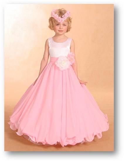 بالصور فساتين بنات صغار شيفون فساتين اطفال fsateen Dresses Children