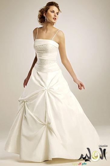 بالصور فساتين زفاف صالون روزيت 117111