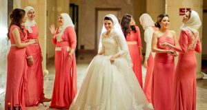 صوره فساتين سهره لاخوات العروس والعريس