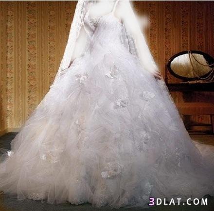صور فساتين زفاف خليجيه فخمه جدا