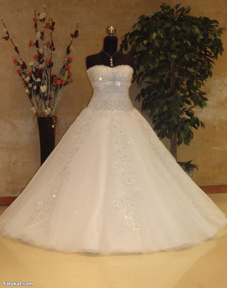 صوره فساتين زفاف زينب خلوصى
