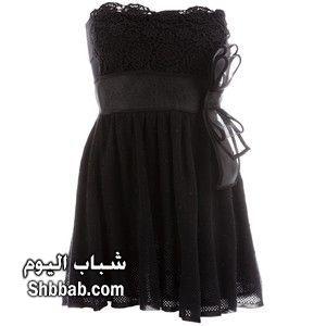 صورة اخر موضة الفساتين القصيرة فساتين سهرة للرشيقات , للدلوعات راح تتميزين بفستانك السواريه