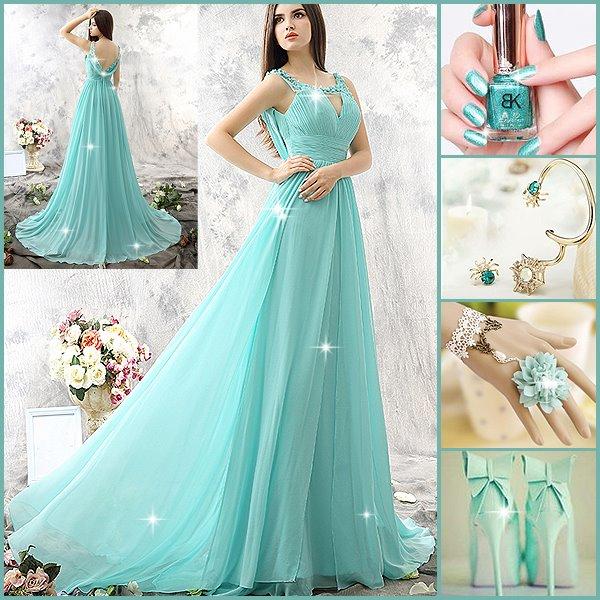 بالصور اروع فساتين السهرة اجمل الفساتين 1426014068263