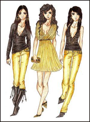 بالصور تصميمات ازياء fashion design 2007g9