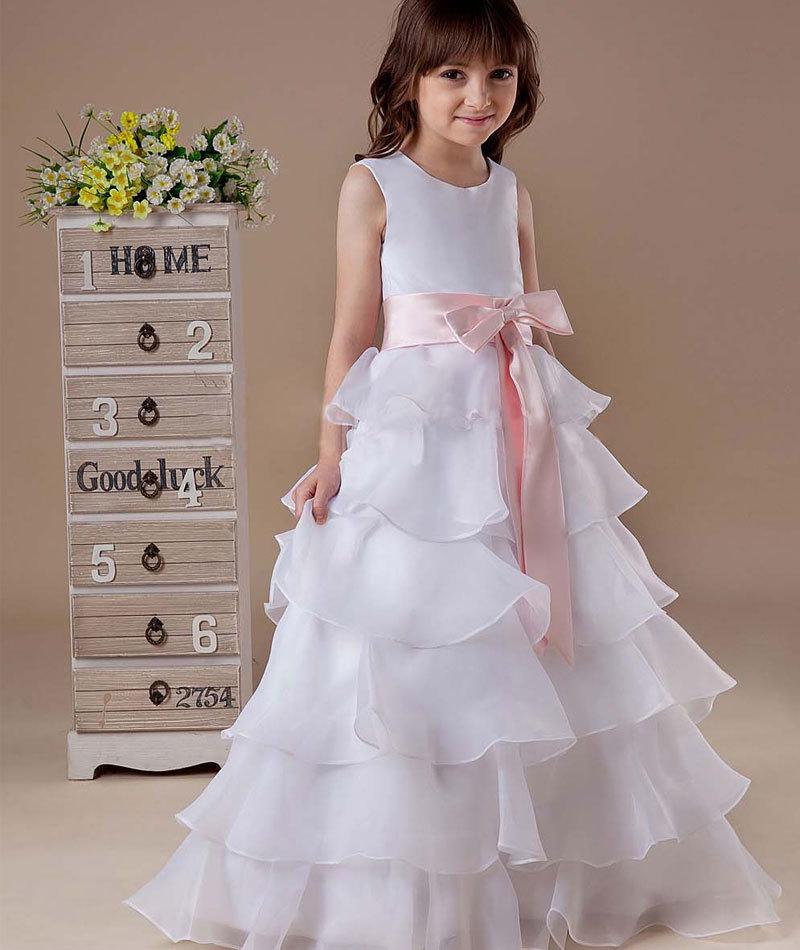 فساتين اطفال زفاف 2019
